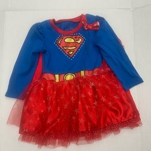 Supergirl Dress Costume